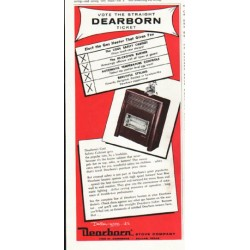 "1956 Dearborn Stove Ad ""Vote the straight"""