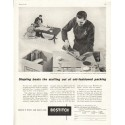 "1956 Bostitch Ad ""beats the stuffing"""