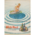 "1950 White Rock Ad ""For over half a century -- America's Finest Beverages"""