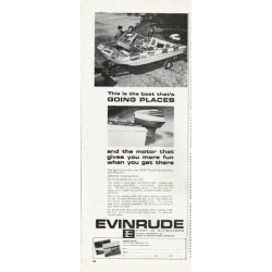 "1965 Evinrude Ad ""Going Places"""
