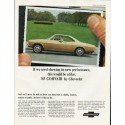 """1965 Chevrolet Corvair Ad """"new performance"""" ~ (model year 1965)"""