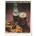 """1965 Tab Soda Ad """"robust flavor"""""""