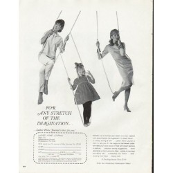 "1965 Ladies' Home Journal Ad ""stretch of the imagination"""