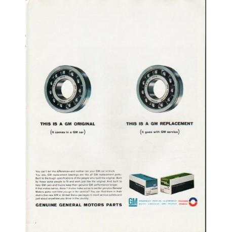 """1965 General Motors Ad """"GM Original"""""""