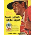 """1965 Camel Cigarettes Ad """"reaching for taste"""""""