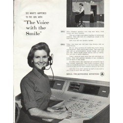 "1961 Bell Telephone System Ad ""The Voice"""
