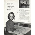 """1961 Bell Telephone System Ad """"The Voice"""""""