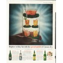"1961 Canada Dry Ad ""holiday fun"""