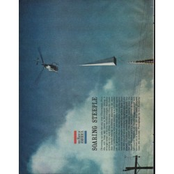 "1961 The Face of America Article ""Soaring Steeple"""