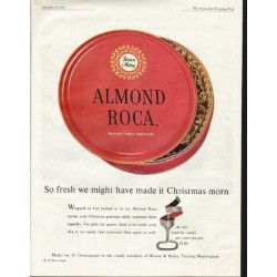 "1961 Almond Roca Ad ""So fresh"""