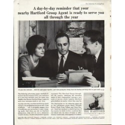 "1961 The Hartford Insurance Ad ""reminder"""