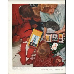 "1961 Kodak Ad ""Open me first"""