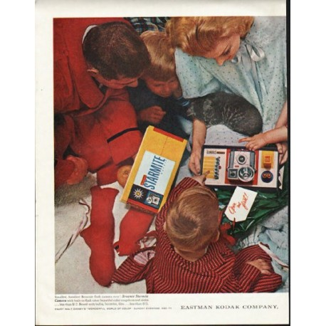 "1961 Kodak Ad ""Open me first"""