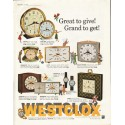 """1961 Westclox Ad """"Great to give"""""""