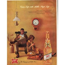 "1961 Miller Beer Ad ""Same good taste"""