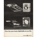 """1972 General Electric Ad """"Over the years"""""""