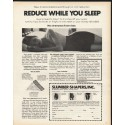 "1972 Slumber-Shapers Ad ""Reduce While You Sleep"""