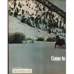 "1972 Marlboro Cigarettes Ad ""Come to Marlboro Country"""