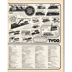 "1972 Tyco Ad ""Spirit of '76"""