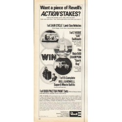 "1972 Revell Ad ""Actionstakes"""