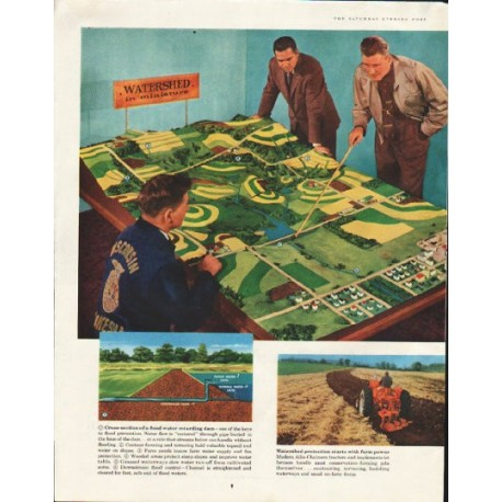 "1958 Allis-Chalmers Ad ""Flood protection"""