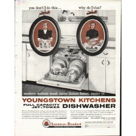"""1958 American-Standard Ad """"why do this"""""""