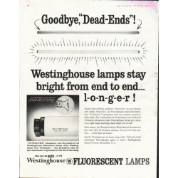 "1958 Westinghouse Ad ""Dead Ends"""