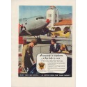 "1937 Ethyl Gasoline Corp Ad ""Necessity In Airplanes"""