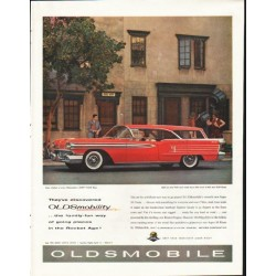 "1958 Oldsmobile Ad ""They've discovered"" ~ (model year 1958)"