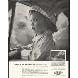 "1958 Du Pont Ad ""safety-cushion"""