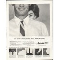 "1958 Arrow Shirt Ad ""most popular shirt"""