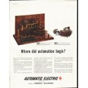 "1958 Automatic Electric Ad ""Where did automation begin"""