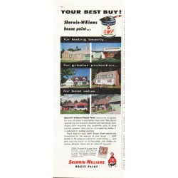 "1958 Sherwin-Williams Ad ""Your Best Buy"""