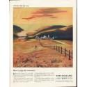 "1958 New England Mutual Life Insurance Company Ad ""better life"""