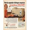 """1965 Apeco Dial-A-Copy Ad """"dry copymaker"""""""
