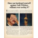 "1965 Calvert Whiskey Ad ""hardened yourself"""