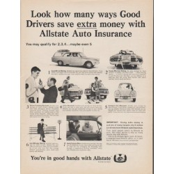 "1965 Allstate Insurance Ad ""many ways"""