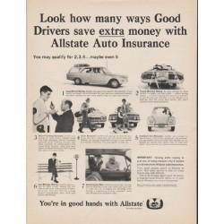 "1965 Allstate Insurance Ad ""many ways"""