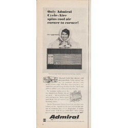 "1965 Admiral Air Conditioner Ad ""Only Admiral"""