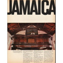 "1965 Jamaica Tourism Ad ""buccaneering sea captain"""