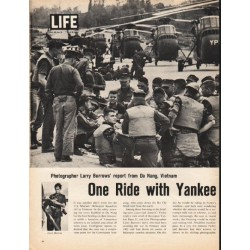 "1965 Vietnam Article ""Yankee Papa 13"""