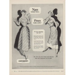 "1949 Sanforized Ad ""Do your shopping like Nan !"""