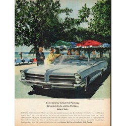 "1965 Pontiac Catalina Ad ""Some cars"" ~ (model year 1965)"
