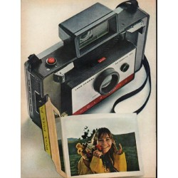 "1965 Polaroid Ad ""economy model"""