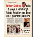 "1965 Pittsburgh Paints Ad ""Arthur Godfrey"""