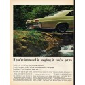 "1965 Chevrolet Impala Ad ""roughing it"" ~ (model year 1965)"