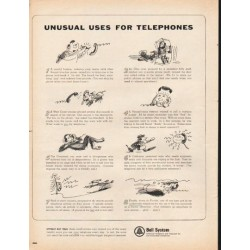 "1965 Bell System Ad ""Unusual Uses"""