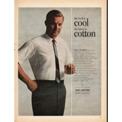 "1965 Van Heusen Ad ""the look is cool"""