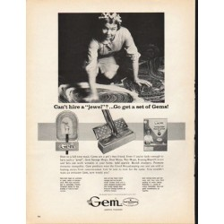 "1965 Gem Mops Ad ""get a set of Gems"""