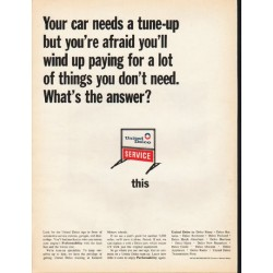"1965 United Delco Ad ""Your car needs a tune-up"""